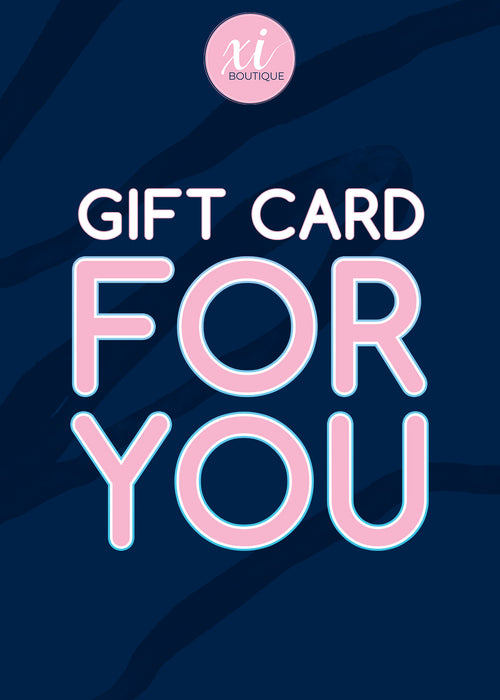 Xi Boutique Gift Card