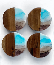 Load image into Gallery viewer, Wooden  Coasters