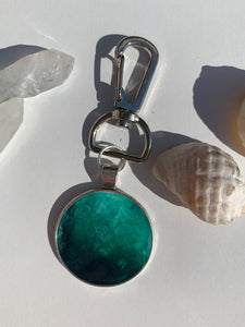 Emerald Sea Keychain