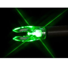 Nockturnal FIT Universal Size Green Lighted Nock