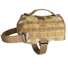 US Tactical K9 MOLLE Vest - Coyote - Large