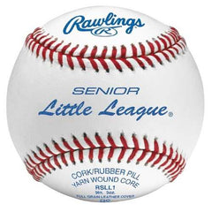 Rawlings Sr. Little League Competition Grade Baseball-Dozen