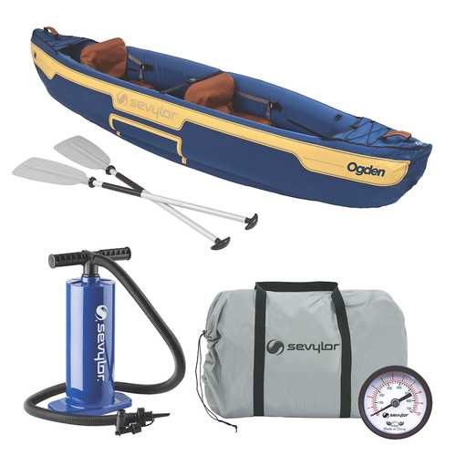 Sevylor Ogden&trade Inflatable Canoe Combo - 2-Person