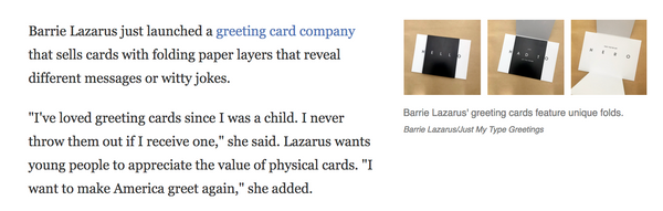 NPR l Greeting Cards Are Still A Thing In The Digital Age  Thanks