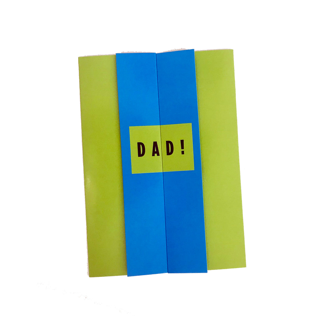 DAD Reveal Card