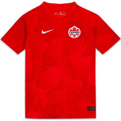 NIKE CANADA 2020 STADIUM YOUTH JERSEY - HOME