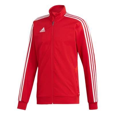ADIDAS TIRO19 YOUTH TRAINING JACKET - RED/WHITE