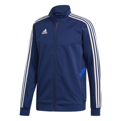 ADIDAS TIRO19 YOUTH TRAINING JACKET - NAVY/WHITE