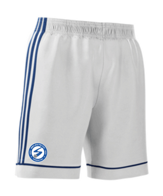 MILLWOOSDS SELECTS miTEAM SQUADRA17 SHORT - WHITE **in-store only