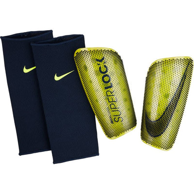 NIKE MERCURIAL LITE SUPERLOCK SHINGUARD- VOLT