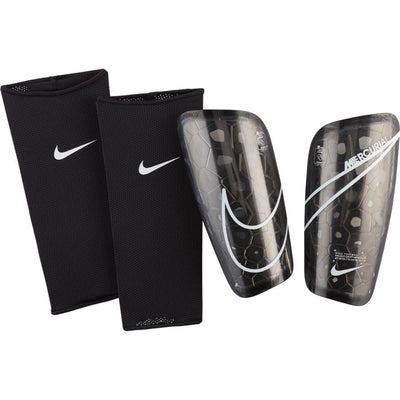 NIKE MERCURIAL LITE SHINGUARD - BLACK/WHITE