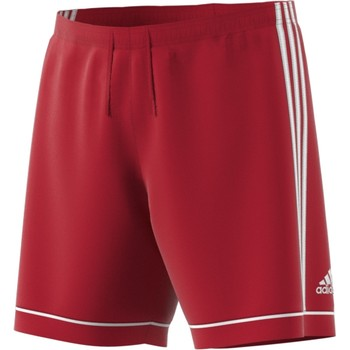 ADIDAS SQUAD17 YOUTH SHORT- RED/WHITE