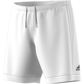 ADIDAS SQUAD17 YOUTH SHORT- WHITE