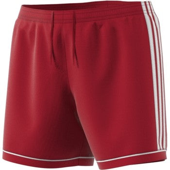 ADIDAS SQUAD17 WOMENS SHORT- RED