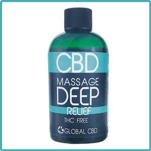 Golden Massage Oil 4 oz 200 MG CBD