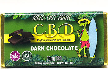 Kava Artisan CBD Dark Chocolate Bar Delicious Edible with Pure Quality Tested Hemp Extracted Cannabidiol and Organic Ingredients