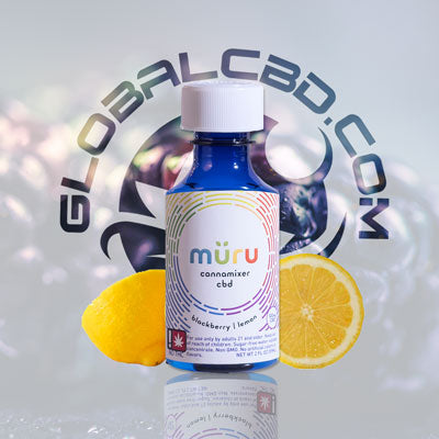 Muru Blackberry Lemon CBD Cannamixer Concentrate Syrup Can Be Added To Any Beverage or Cocktail