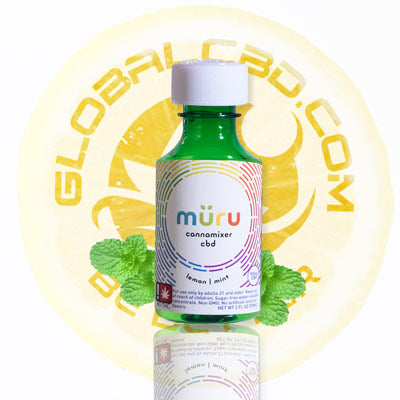 Muru Lemon Mint CBD Cannamixer Concentrate with Increased Bioavailability for Maximum Absorption into the Bloodstream