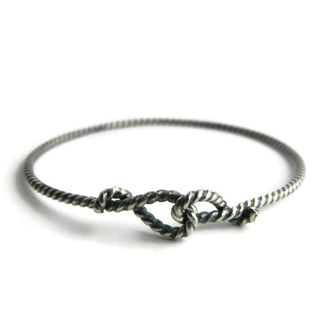 forget-me-knot rope bangle - e. scott originals