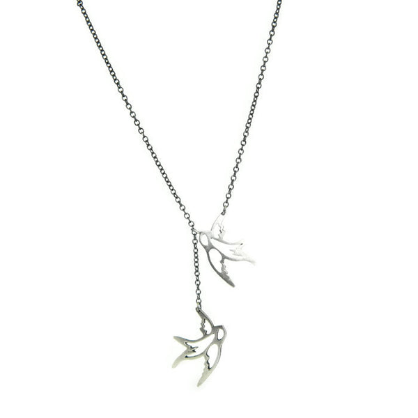 flying birds necklace - e. scott originals