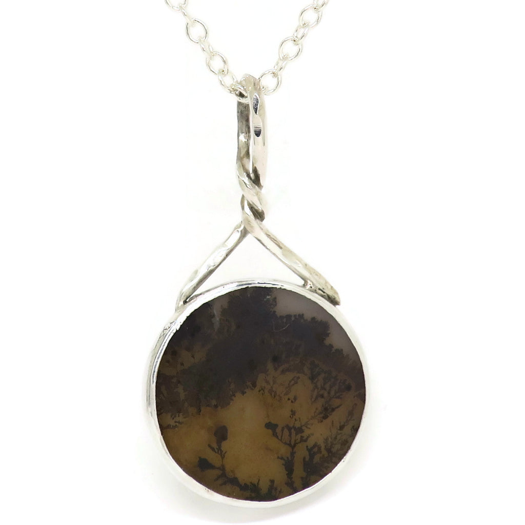 Landscape Agate Necklace