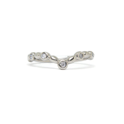 e. scott nuptials... The Antique Curve Women's Ring