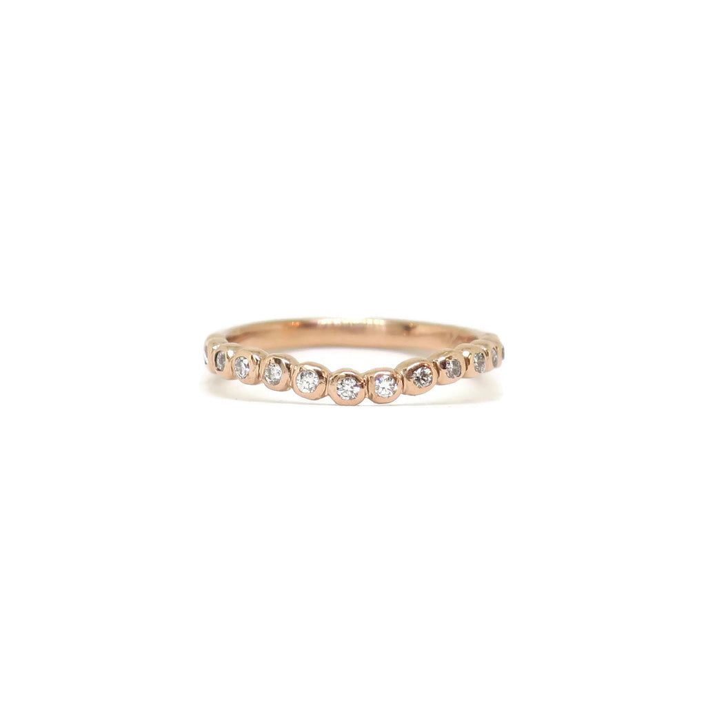 e. scott nuptials... The Bubbles Curved Women's Ring