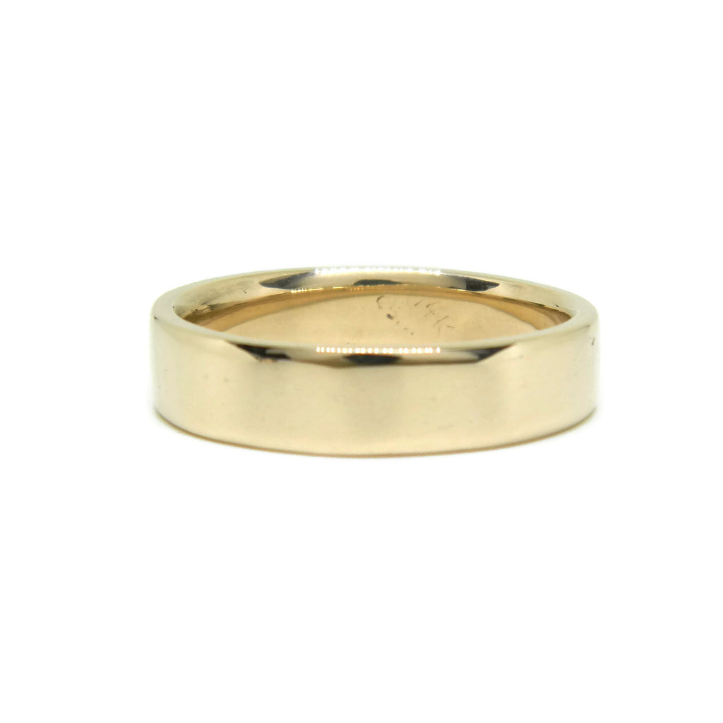 e. scott nuptials... The Classic Flat Men's Ring