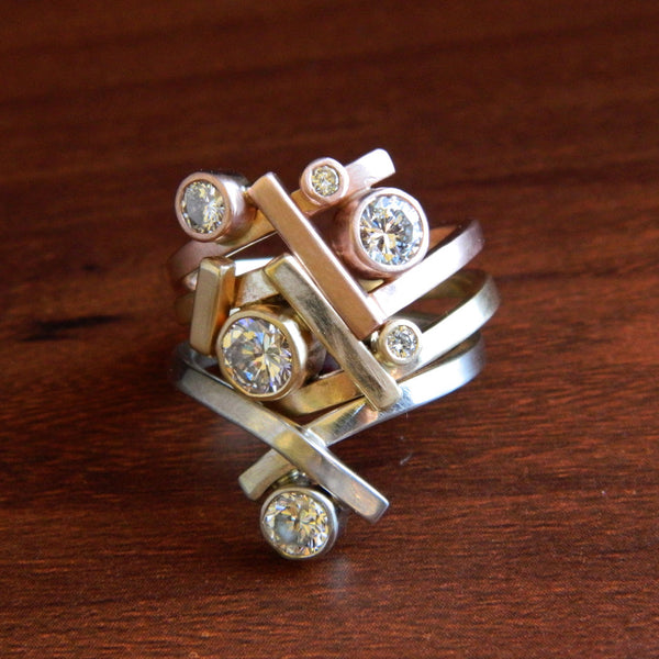 For Beth, nesting stack rings - e. scott originals