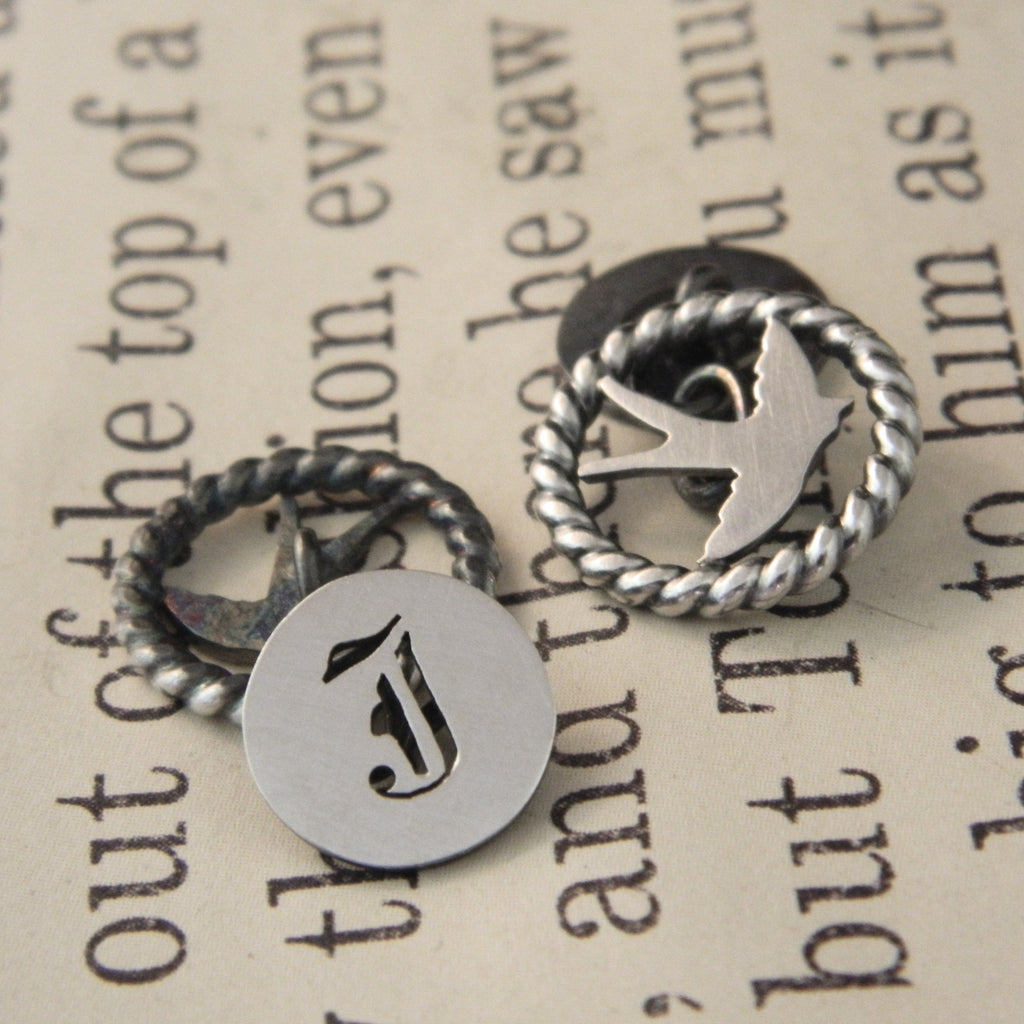 For Tim from Jessica, cufflinks - e. scott originals