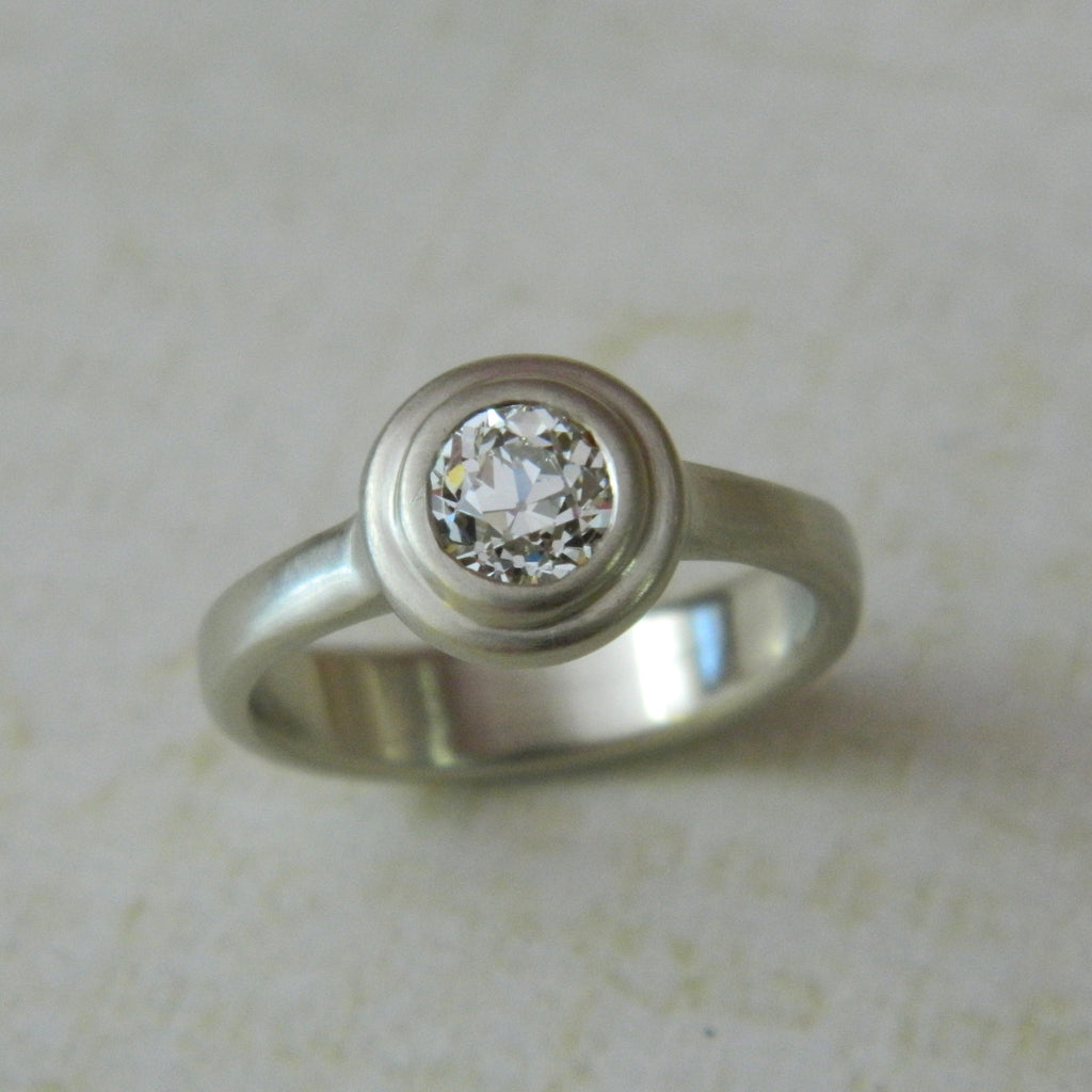 One of a kind engagement ring for Melissa from Erin - e. scott originals