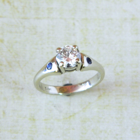 One of a kind engagement ring for Michelle from Brett - e. scott originals