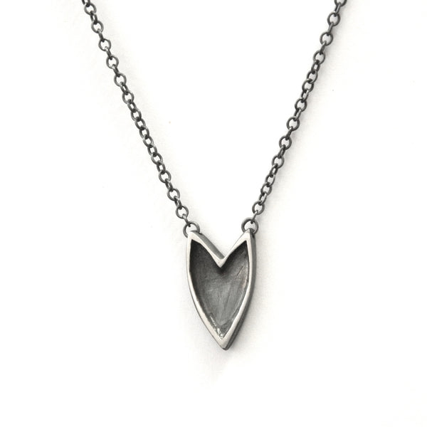 The Revival shielded heart necklace - e. scott originals