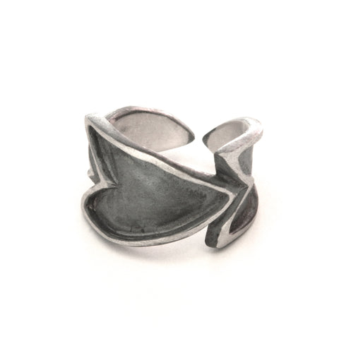 The Revival leaf ring - e. scott originals