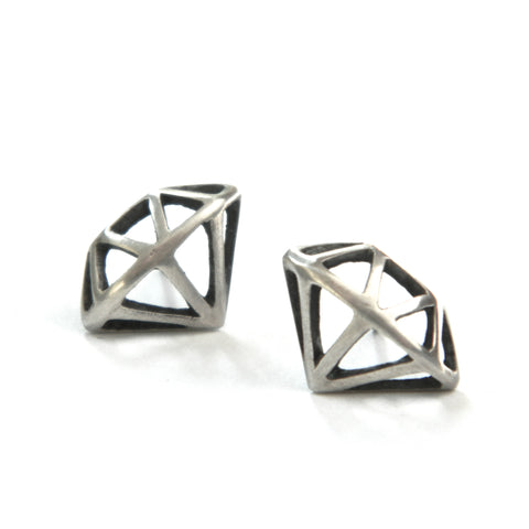 e. scott diamond studs - e. scott originals