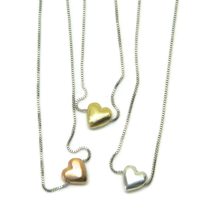 lil' love heart necklace - e. scott originals