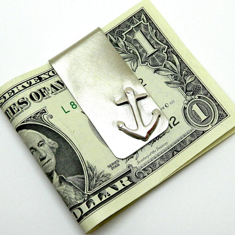 anchor money clip - e. scott originals