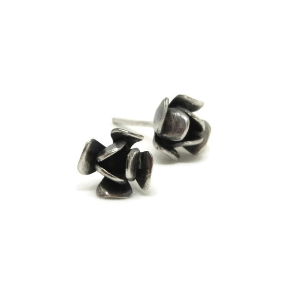 rose studs - e. scott originals