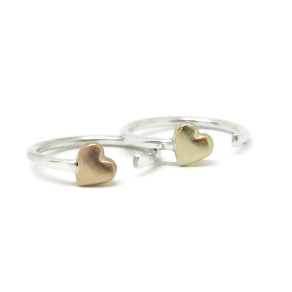 Lil' love heart ring - e. scott originals