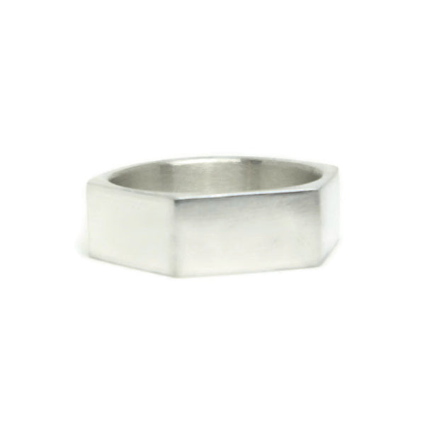 e. scott nuptials... The Angled Wide Men's Ring - e. scott originals