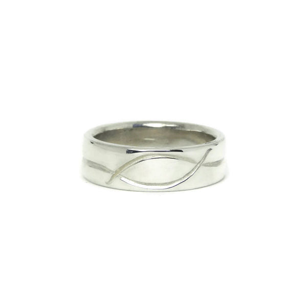 e. scott nuptials... The Swirl Men's Ring - e. scott originals