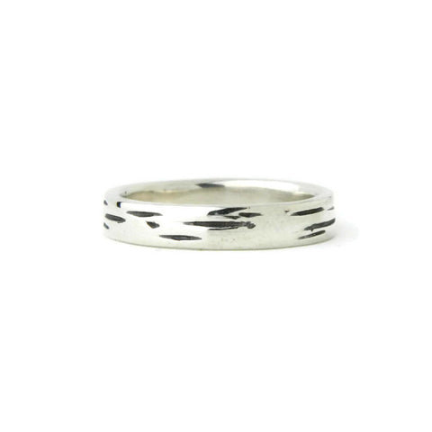 e. scott nuptials... The Woodland Thin Men's Ring - e. scott originals