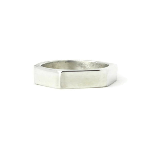 e. scott nuptials... The Angled Thin Men's Ring - e. scott originals