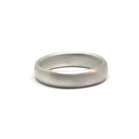 e. scott nuptials... The Classic 1/2 Round Wide Men's Ring