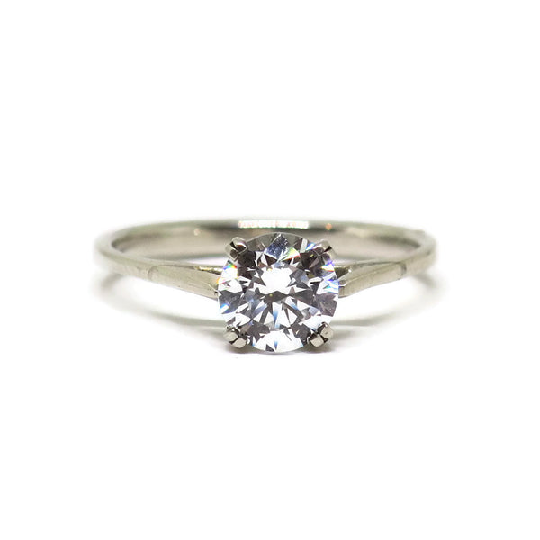 e. scott nuptials... The Dainty Classic Solitaire Engagement Ring