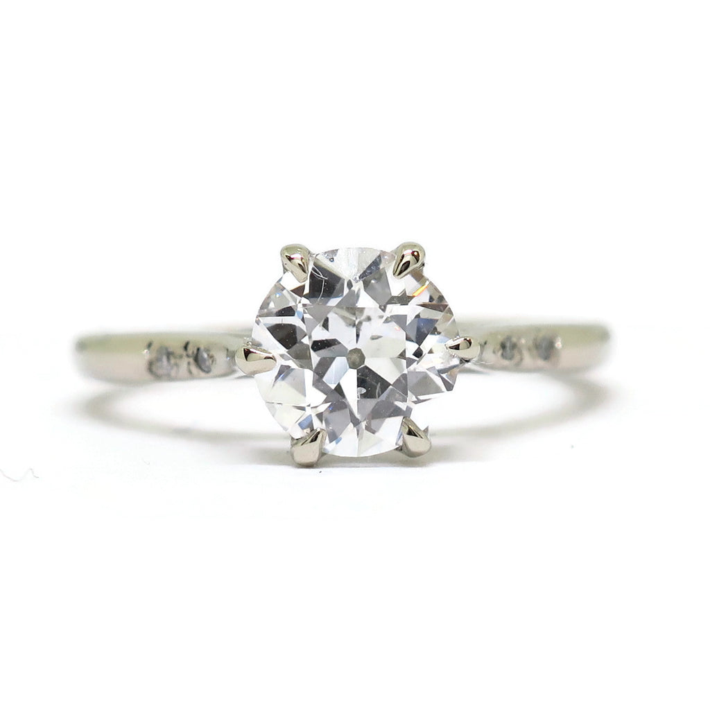 e. scott nuptials... The Dainty Flora Engagement Ring