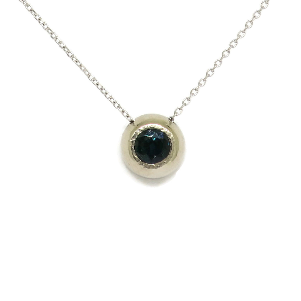 Sapphire Dome Necklace
