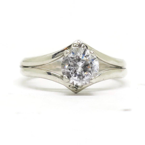 e. scott nuptials... The Double Point Engagement Ring