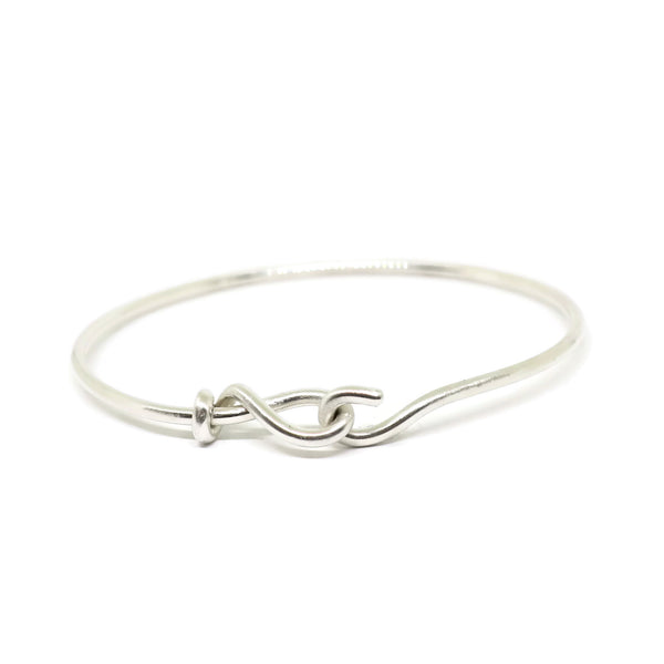 forget-me-knot plain bangle