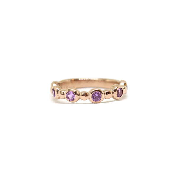 The Glamour- Magenta Sapphires